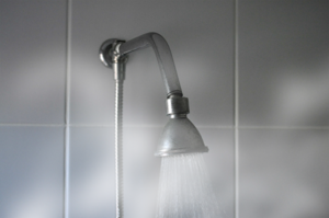 shower head steam
